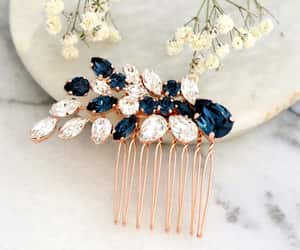 etsy, hair accessories, and bridal headpiece image