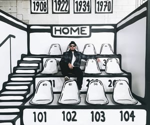 blackandwhite, seating, and numbers image