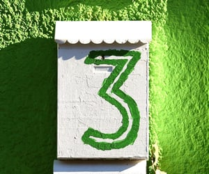 3, green, and lime image