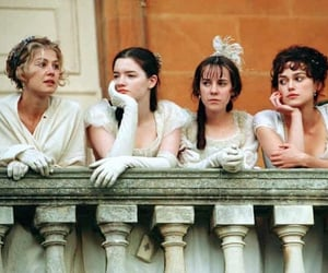 pride and prejudice, keira knightley, and sisters image