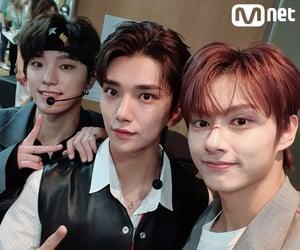 Chan, mnet, and hong jisoo image