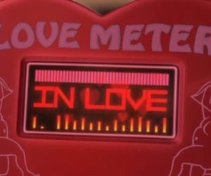 red, aesthetic, and love image