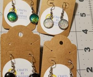 accessory, earring, and handmade image