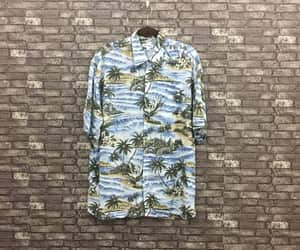 etsy, alohagirlshirt, and hawaii rayon shirt image