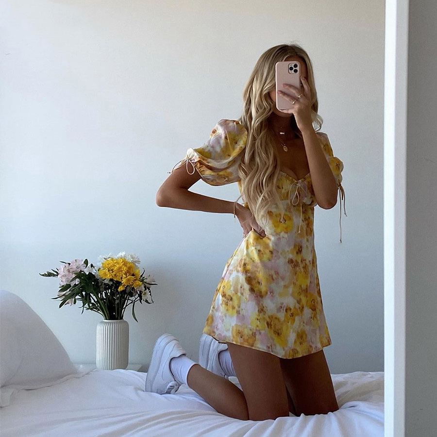 minidress, street fashion, and streetstyle image