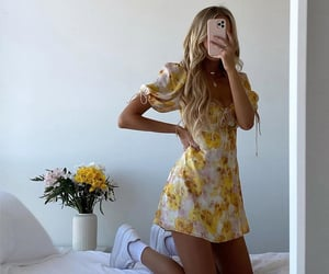 SOCIALITE YELLOW FLORAL PRINTED STRAPPY BACK DRESS