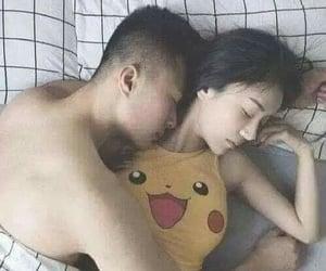 amor, pikachu, and love image