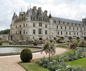 castle, garden, and beautiful image
