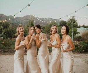beautiful, champagne, and girls image