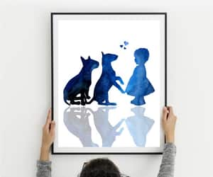 etsy, dog lovers gift, and dogs print image