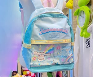 backpack, colorful, and kawaii image