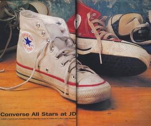 converse, magazine, and print image