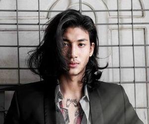 Burmese, male model, and paing takhon image