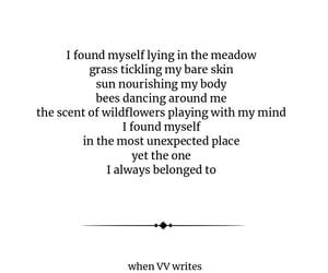 meadow, poem, and emotional poem image