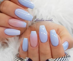 nails, girl, and cute image