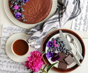 berries, cake, and chocolate image