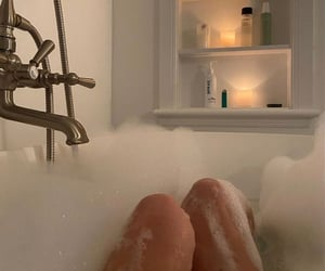 aesthetic, bath, and style image