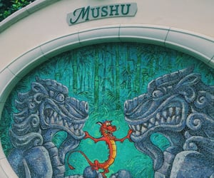 disney, disneyland, and mosaic image