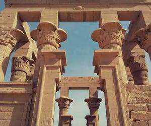 ancient egypt, history, and pillars image