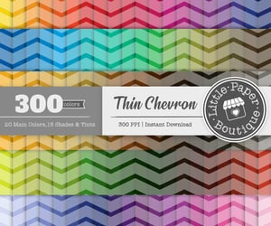 etsy, scrapbooking paper, and chevron pattern image