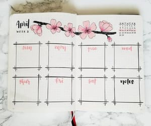 bullet journal, ideas, and school image