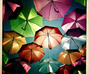 colors, umbrellas, and awesome image
