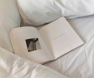 aesthetic, blackandwhite, and book image