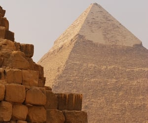 egypt, photography, and pyramids image