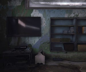 abandoned, game, and past image