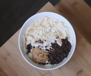 Banana ice cream with chocolate nibs & dried coconut flakes.https://www.instagram.com/p/CCA3pw6h_YtpccT2i9gyBXhm-D9qanOnZcSOS40/?igshid=dxmu6ino1kzo