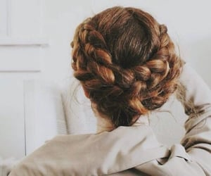 hairstyle, hair, and aesthetic image