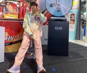 pink, cute, and kim wooseok image
