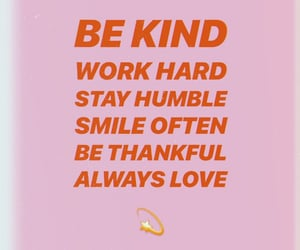 humble, kind, and quotes image