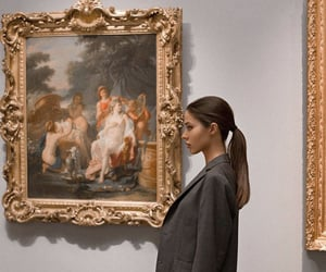 museum, art, and fashion image