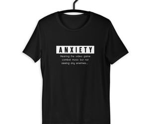 anxiety, xp, and combat image