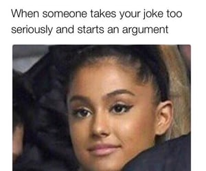 argument, funny, and joke image