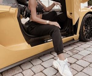 Balenciaga, black, and cars image