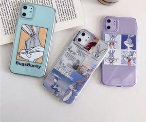 aesthetic, bugs bunny, and phone image