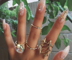 fashion, manicure, and nail polish image