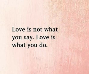 pink, quotes, and love image