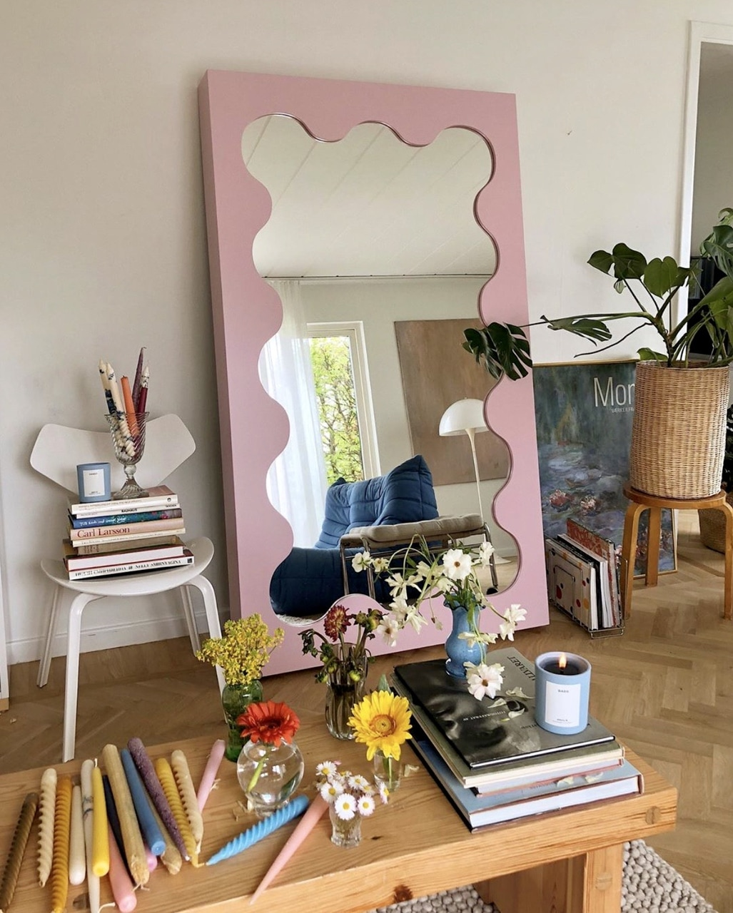 Anyone else obsessed with mirrors or is it just me! mirror by @gustafwestman on ig💕