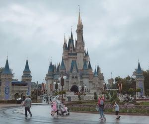 america, orlando, and rainy day image