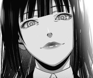 anime, kakegurui, and manga image