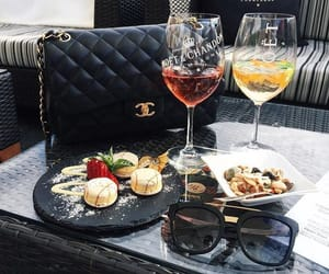 drink, chanel, and luxury image