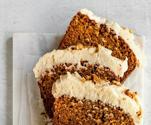food, cake, and carrot cake image