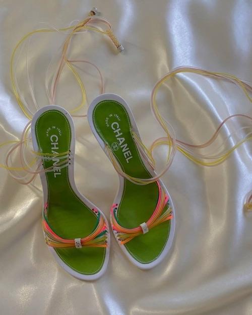 chanel, fashion, and heels image