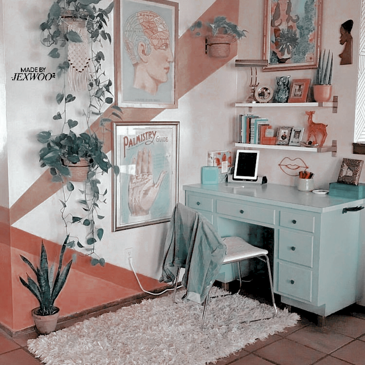 Rosé theme's background