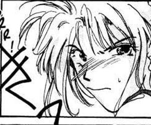 black and white, manga girl, and manga image
