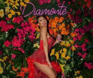 birthday, dress, and diamonte image