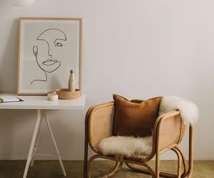 brown, design, and desk image